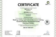 Certifikát AJ 14016-B-04 N
