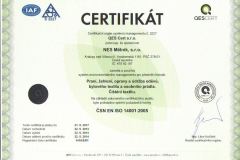 certifikát_NES Mělník, s.r.o._14001_ČJ