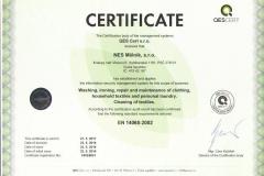 certifikát_NES Mělník s.r.o._14065_AJ